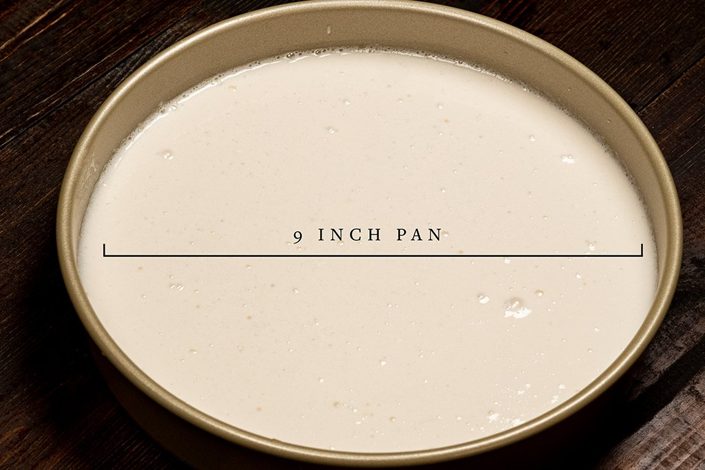 Pan Size for rice cake